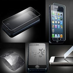 Xtra-Funky Exclusive High Quality Real 100% Genuine Tempered Glass Screen Protector For Apple Iphone 5 / 5S / 5C