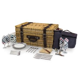 Picnic Time Carnaby Street Picnic Basket With Deluxe Service For Four