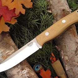 Bark River Aurora Fixed Blade Knife,Cpm 3V Steel Blade,Antique Ivory Micarta Handle 06-145Mai