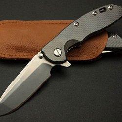Rescue Black Outdoor Camping Pocket Folding Strap Holder Knife Xm-18