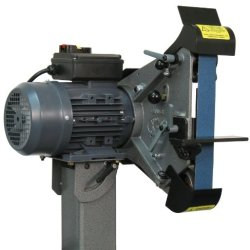 "Jancy Slugger Ram1000 Radiusmaster Belt Grinding Machine, 1.5Hp, 110V, 16-15/16"" Width X 15-1/8"" Height X 16-13/16"" Depth"