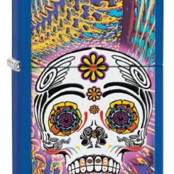 Zippo Day Of The Dead Pocket Lighter