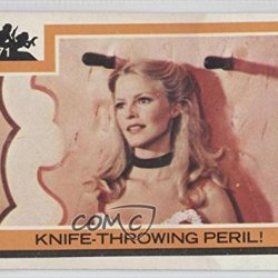 Knife-Throwing Peril! (Trading Card) 1977 Topps Charlie'S Angels #171