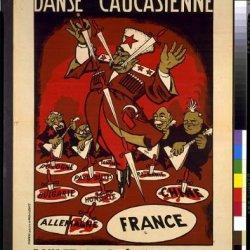 Photo: Danse Caucasienne,Joseph Stalin,Georgian Cossack,Throwing Knives,Countries,C1951