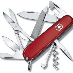 Victorinox - Mountaineer Swiss Army Knife (Red) 1374300