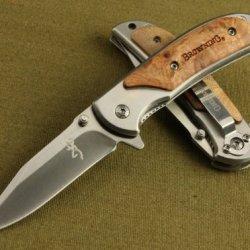 Oem Browning Knife 8 Folding Pocket Knife 440C 8Hrc Camping Knife Hunt Tools Line Lock