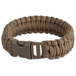 Survival Bracelet, 8 In., Coyote - Boker Outdoor