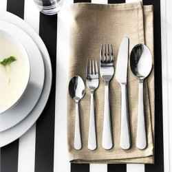 Ikea - Dragon 20-Piece Flatware Set, Stainless Steel