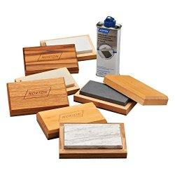 St. Gobain 66253387572 Arkansas Sharpening Stone Assortment Kit