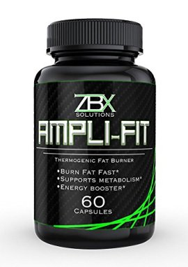 AMPLI-FIT-60-CT-THERMOGENIC-FAT-BURNER-FOR-MEN-WOMEN-Supports-Metabolism-and-Suppresses-Appetite-Yohimbine-Ketones-and-Green-Tea-Blend-100-SATISFACTION-GUARANTEED