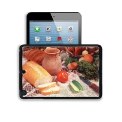 Cucumber Bread Tomato Baked Goods Herbs Knife Apple Ipad Mini 2 Retina Display Snap Cover Premium Aluminium Design Back Plate Case Open Ports Customized Made To Order Support Ready 8 Inch (205Mm) X 5 1/2 Inch (140Mm) X 11/16 Inch (17Mm) Liil Ipad Mini Ret