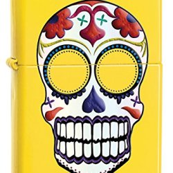 Zippo Lemon Skull Pocket Lighter