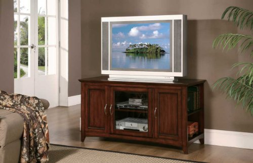 Image of Homelegance Ian Lynman 48 Inch TV Stand in Cherry (8047-T)