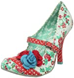 Irregular Choice Women's Cortesan Floral Too Pump