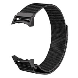 For-Gear-S2-SM-R720-TOOPOOT-Milanese-Magnetic-Loop-Stainless-Steel-Watch-Band-Connector-For-Galaxy-Gear-S2-RM-720