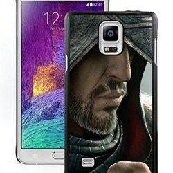 Diy Assassins Creed Desmond Miles Hood Face Knife Beard Fursamsung Galaxy Note 4Black Phone Case