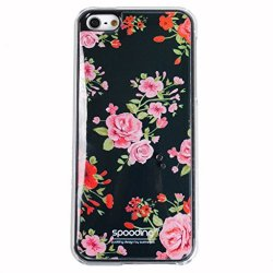 [Navy Rose] Ip5 Spooding Cushion Aroma [Scent] Rigid Case Cover [Soft Grip] For Apple Iphone 5/5S