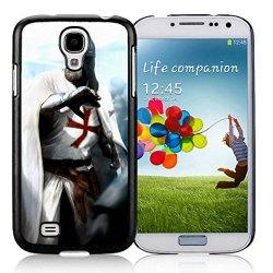 Diy Assassins Creed Desmond Miles Guard Helmets Knife Fist Attack Samsung Galaxy S4 I9500 Black Phone Case