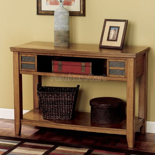 Image of Cottage Light Ash Sofa Console Table (T674-4)