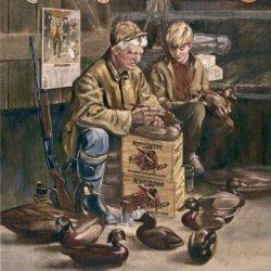 Remington Umc Hunting Duck Decoy Maker Retro Vintage Tin Sign