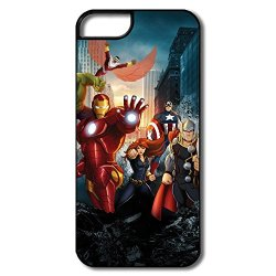 Art Silicone Marvels Avengers Iphone 5 Cover