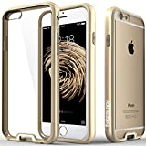 iPhone 6 case, Caseology® [Dual Bumper Clearback] [Gold] DIY Customization Fusion Hybrid Cover [Shock Absorbent] Apple iPhone 6 case