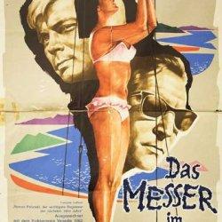 Knife In The Water 1962 Original Germany A1 Movie Poster Roman Polanski Leon Niemczyk