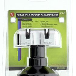 Dual Diamond Knife/Scissor Sharpener