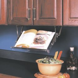 Kv Undercabinet Pull Down Cookbook Rack