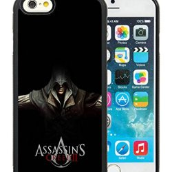 Diy Assassins Creed Desmond Miles Hands Knifes Hood Iphone 6 4.7 Inch Black Phone Case