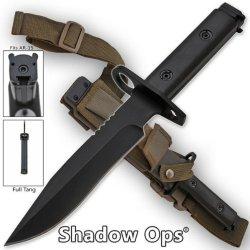"""Heavy Duty """"Shadow Ops"""" Ar-15 Bayonet"""