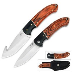Timber Wolf River Run Hunting Knife Set