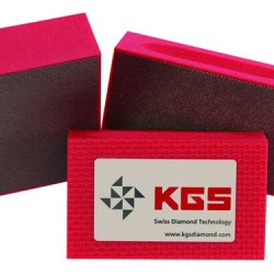 Kgs Diamond Pro-Pad 90X55Mm - 3 Set Rd 200 - Medium Grit Flexible Electro-Plated Diamond Sponge Blocks