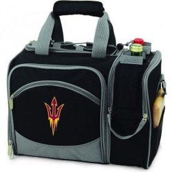 Ncaa Arizona State Sun Devils Malibu Picnic Tote With Deluxe Picnic Service For Two