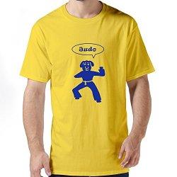 Nice Judo Sheep Men T-Shirts
