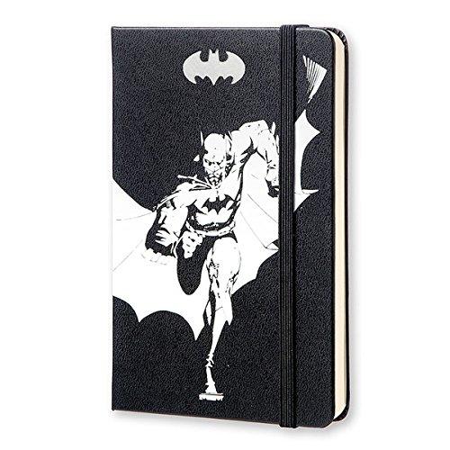 MOLESKINE BATMAN - モレスキン 限定版ノートブック ポケットサイズ プレーン(無地)