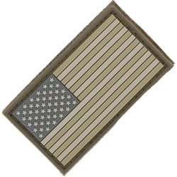 Maxpedition Gear Usa Flag Small Patch, Arid, 2 X 1-Inch