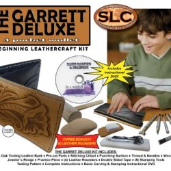 Springfield Leather Company'S Garrett 4 Pocket Deluxe Wallet Beginning Leathercrafting Kit