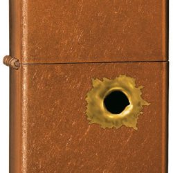Zippo Bullet Hole Pocket Lighter