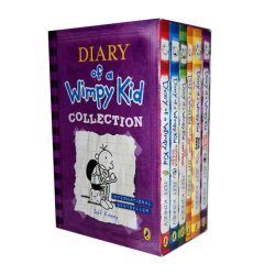 Diary Of Wimpy Kid 6 Books Box Set Collection (The Ugly Truth, Dog Days, Do-It-Yourself Book, Diary Of A Wimpy Kid, Rodrick Rules, The Last Straw)