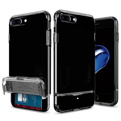 iPhone-7-Plus-Case-Spigen-Flip-Armor-JET-BLACK-Optimized-Jet-Black-Slim-Fit-Dual-Layer-Protective-Wallet-Case-for-iPhone-7-Plus-043CS20853