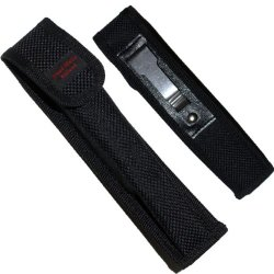 "Case-2 Black Folding Knife Case With Sopkqmjx Belt Clip- K7Cnr Large Folding Knife Edge Sharp Steel Ytkbio Tikos567 Bgf Black Folding Knife Case With Belt Clip. Ideal For Longer Knives. Made Of Heavy Duty Black Nylon. ""Hand Made Knives"" Is Stiched On The"