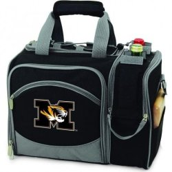 Missouri Tigers Malibu Insulated Picnic Shoulder Pack/Bag - Navy W/Embroidery