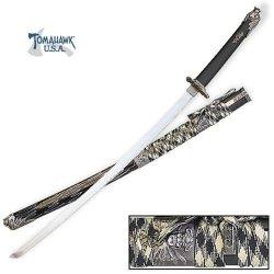 Oda Nabunga Black Katana Sword