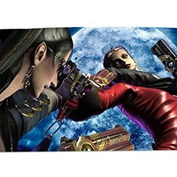 A Wide Variety Of Bayonetta Game Characters Desk & Mouse Pad Table Play Mat (Bayonetta & Jeanne 1)