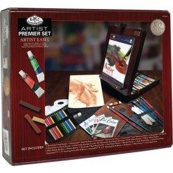 Royal & Langnickel Premier 102 Piece All Media Easel Set