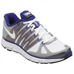 Nike Womens Running Shoes Lunarelite+ 2 White / Wolf Grey / Concord Sz 10.5