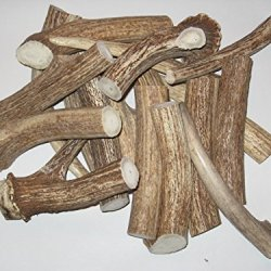 Premium Brown Axis Deer Antler Pieces - Dog Chews / Knife Handles - Sold By The Pound