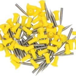 Predator Blowgun Spike Darts. Assorted Colors, Bag Of 50