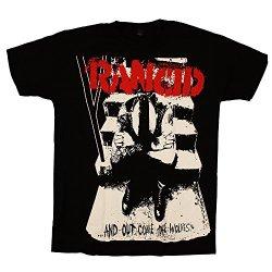 Rancid - Out Come The Wolves Huge Print Black - Mens T-Shirt, Size: X-Large, Color: Black